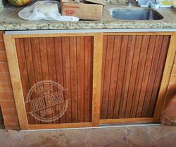 Cod.5830 - porta para churrasqueira