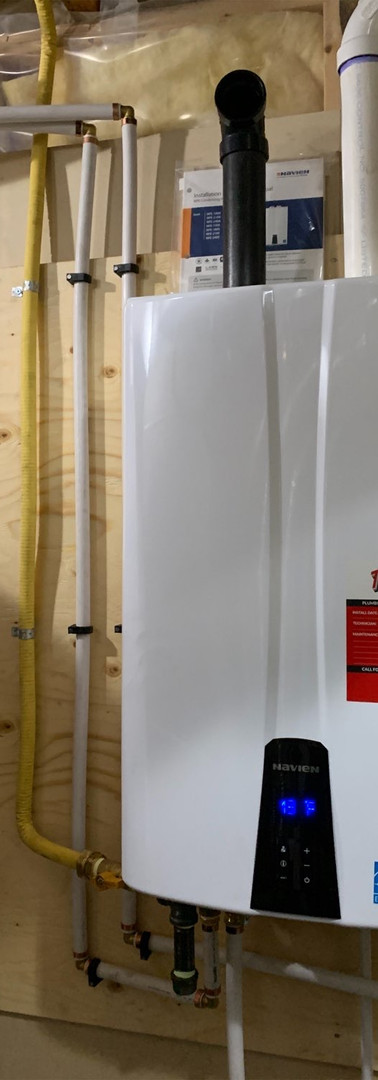 Hot Water Tank Upgrade - Navien