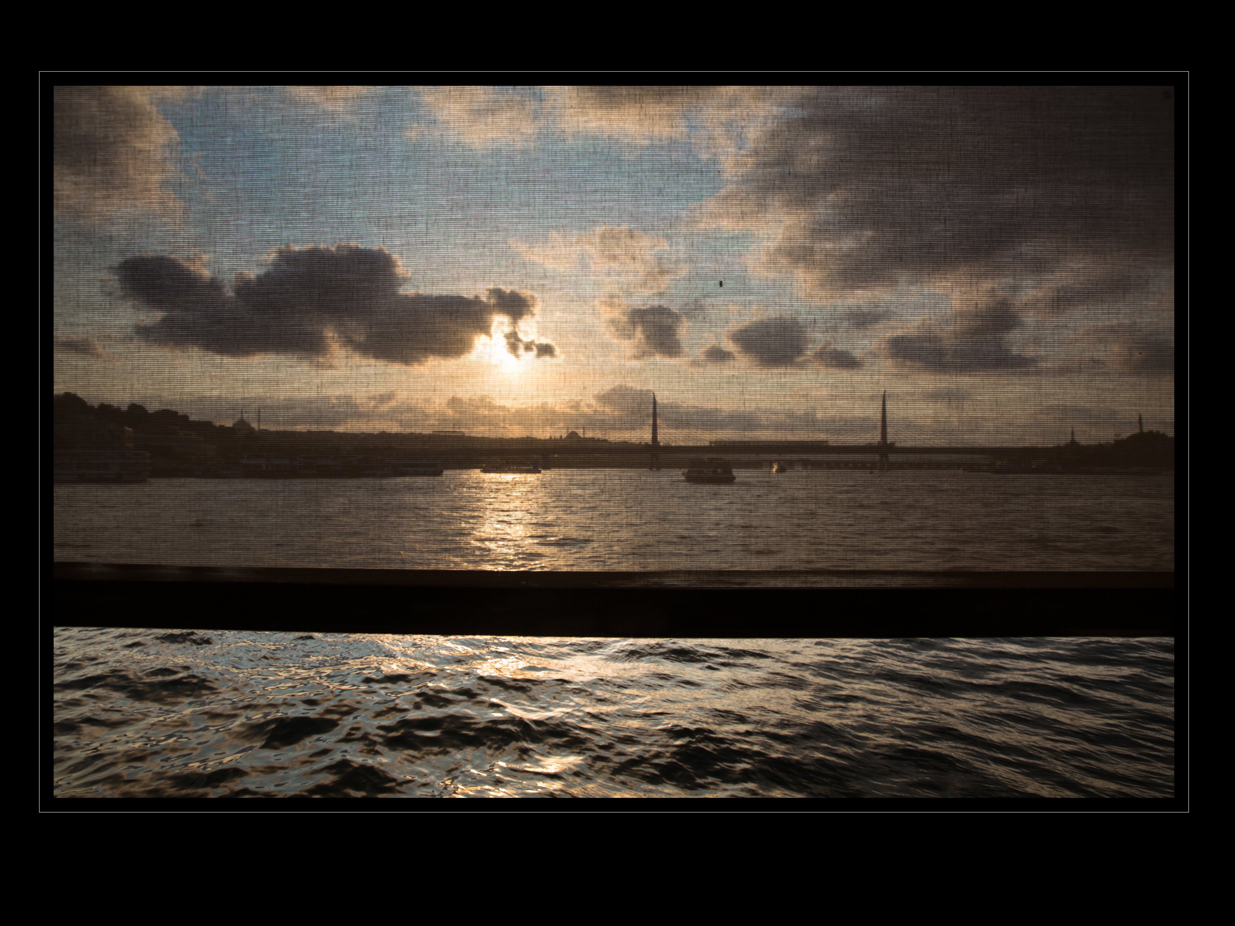 Bosporus sunset