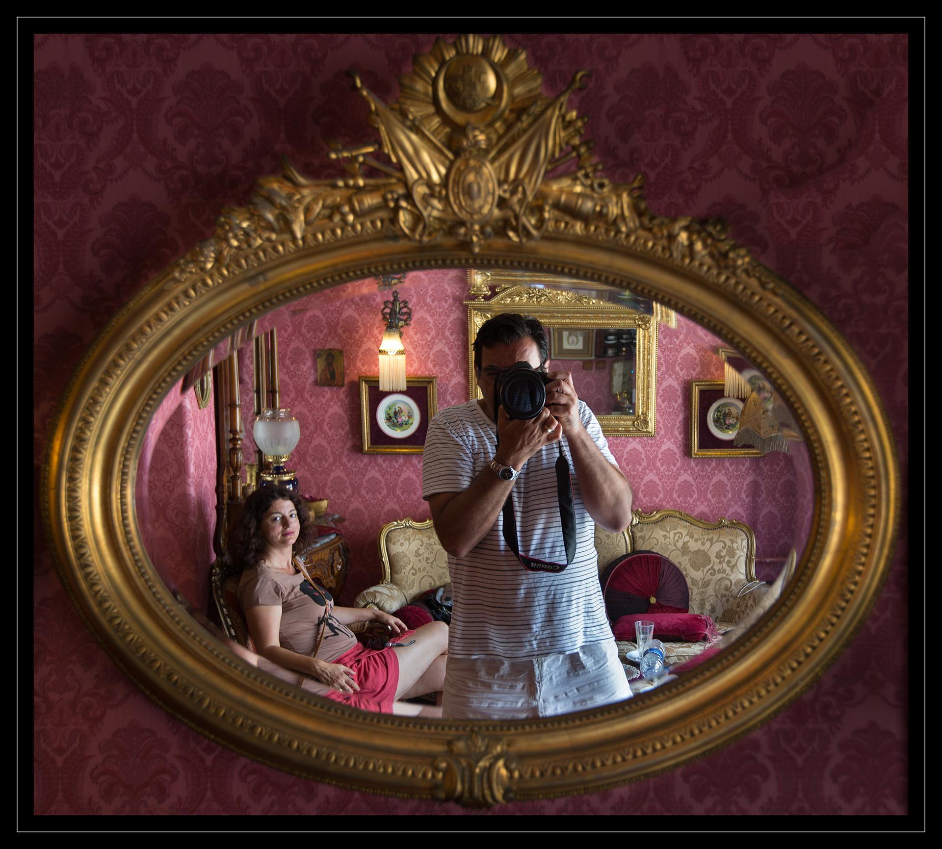Istanbul selfie