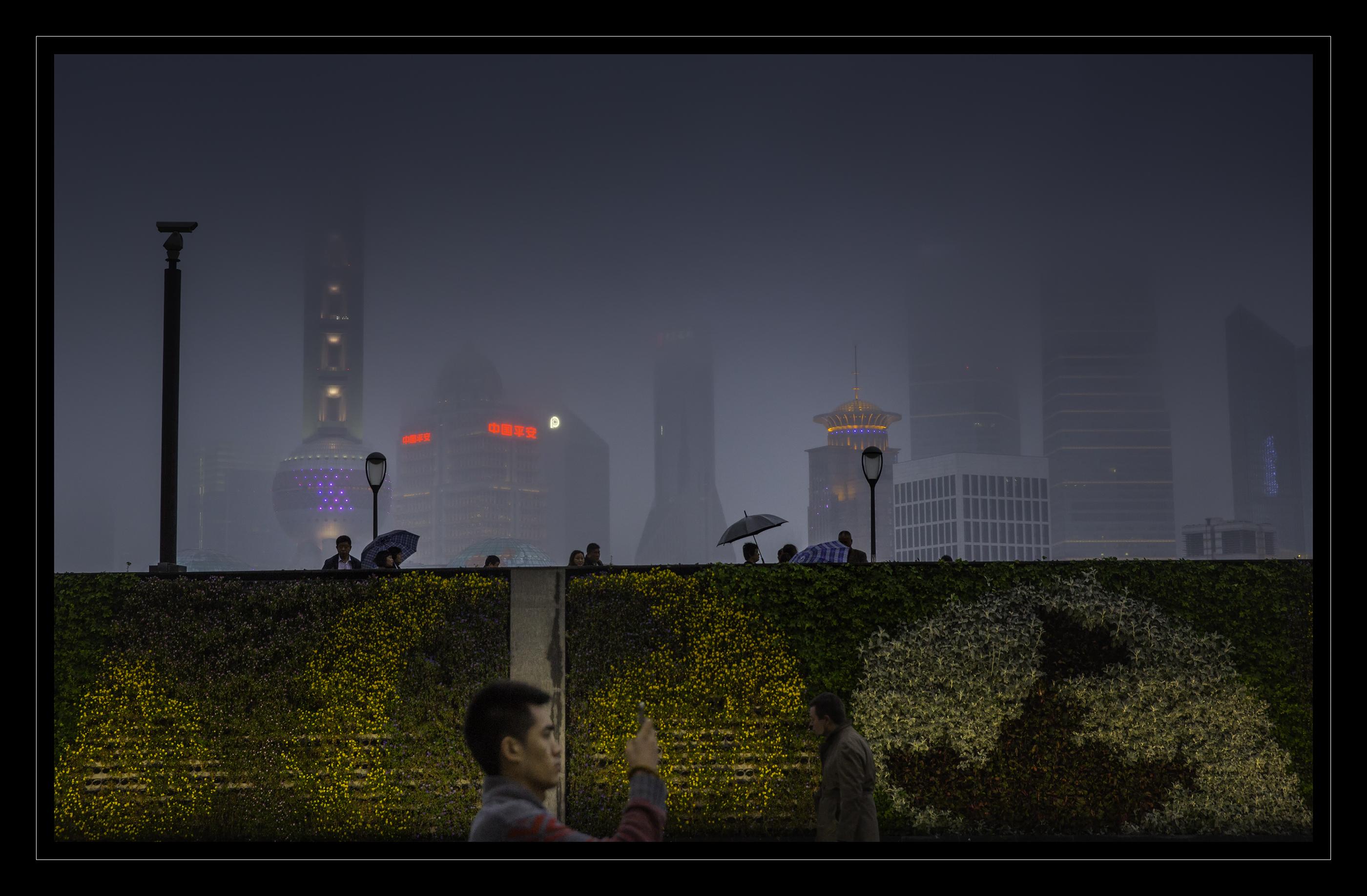 Shanghai rain 2