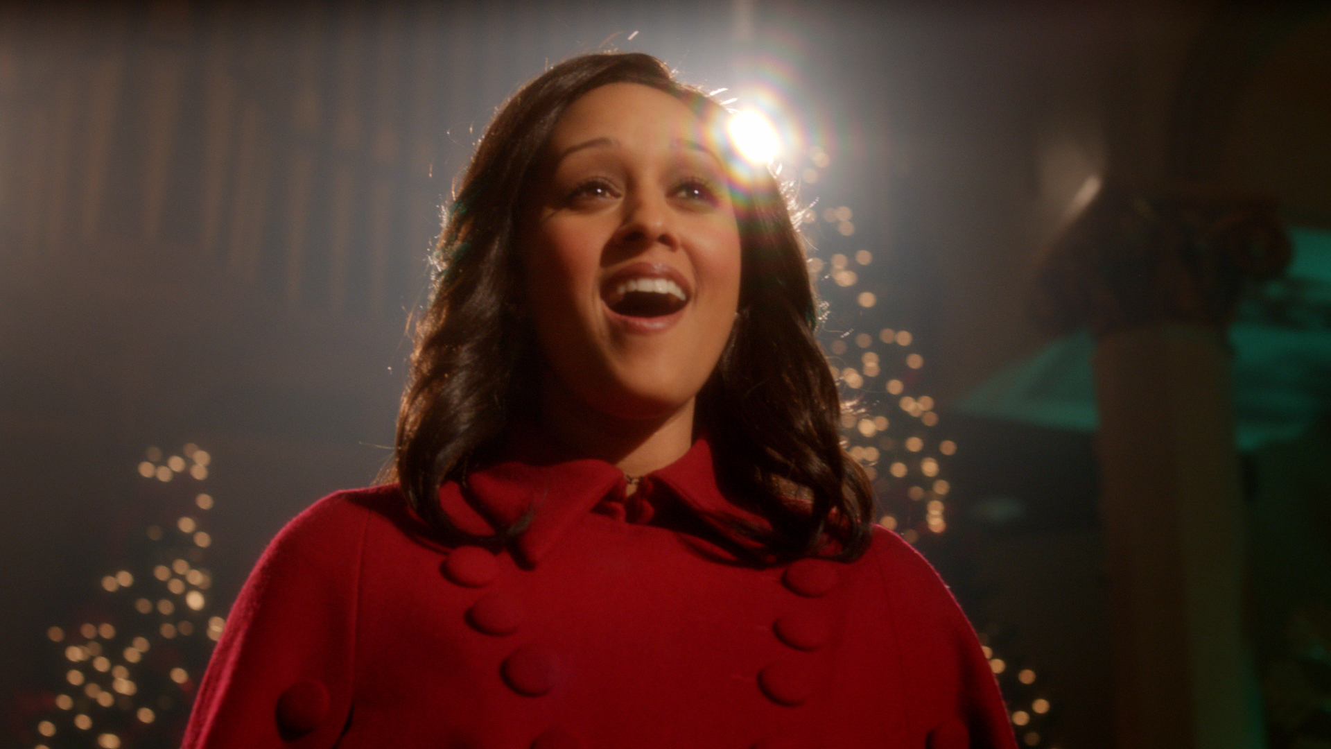The Mistle-Tones: Tia Mowry singing