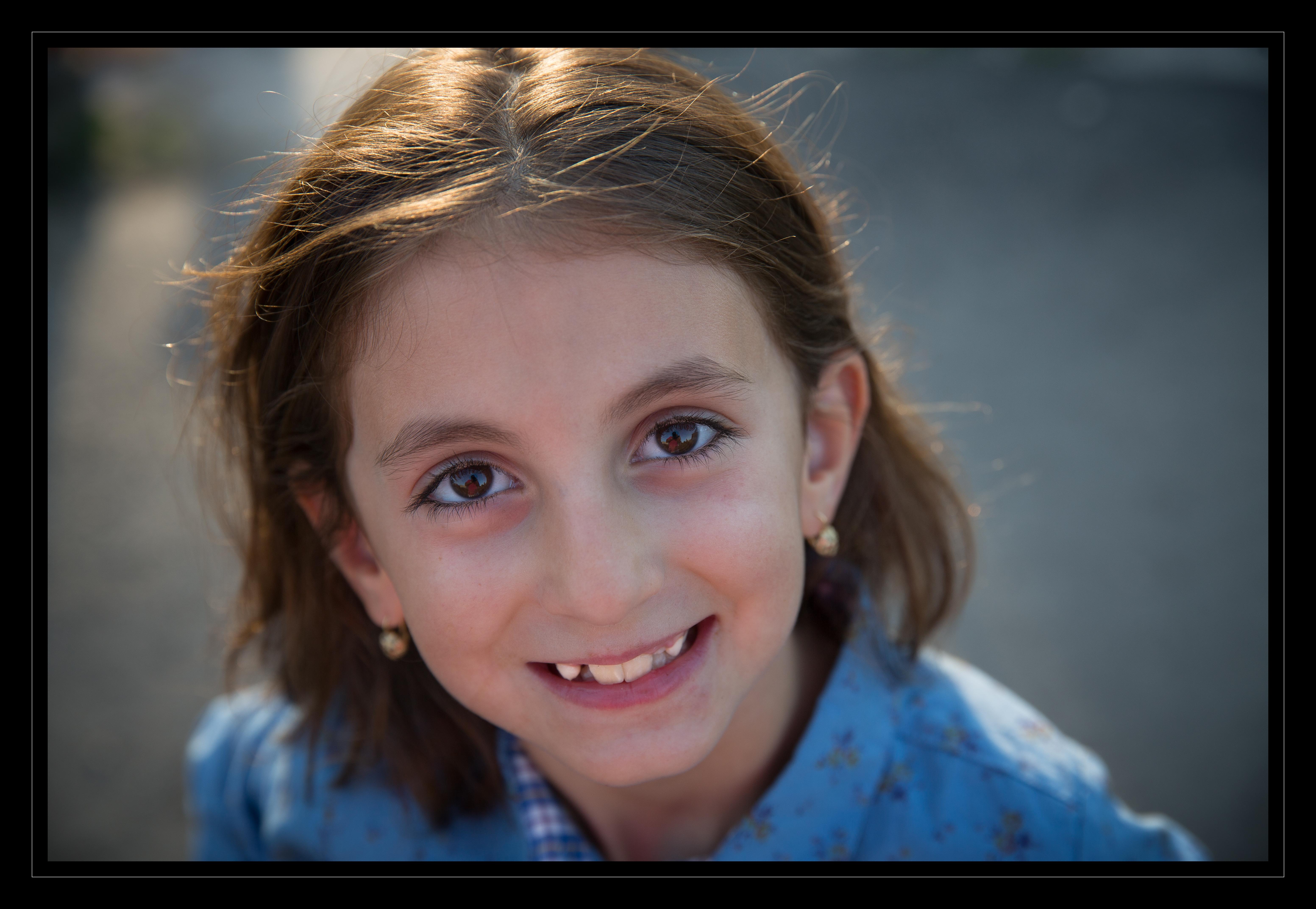 Adina smile