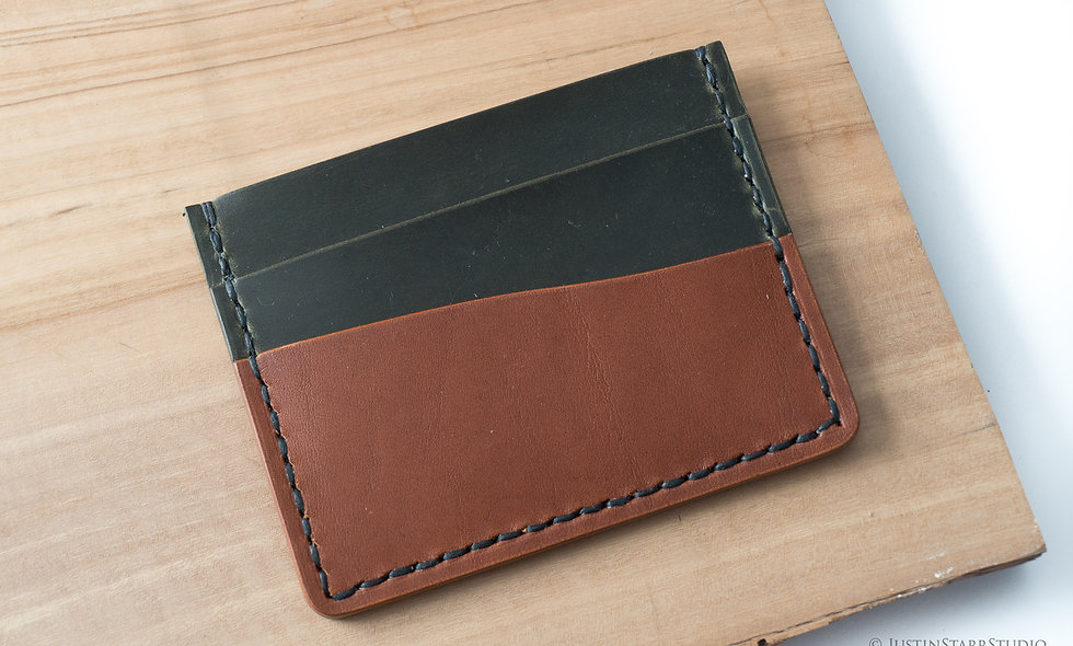 5 Pocket Green & Chestnut