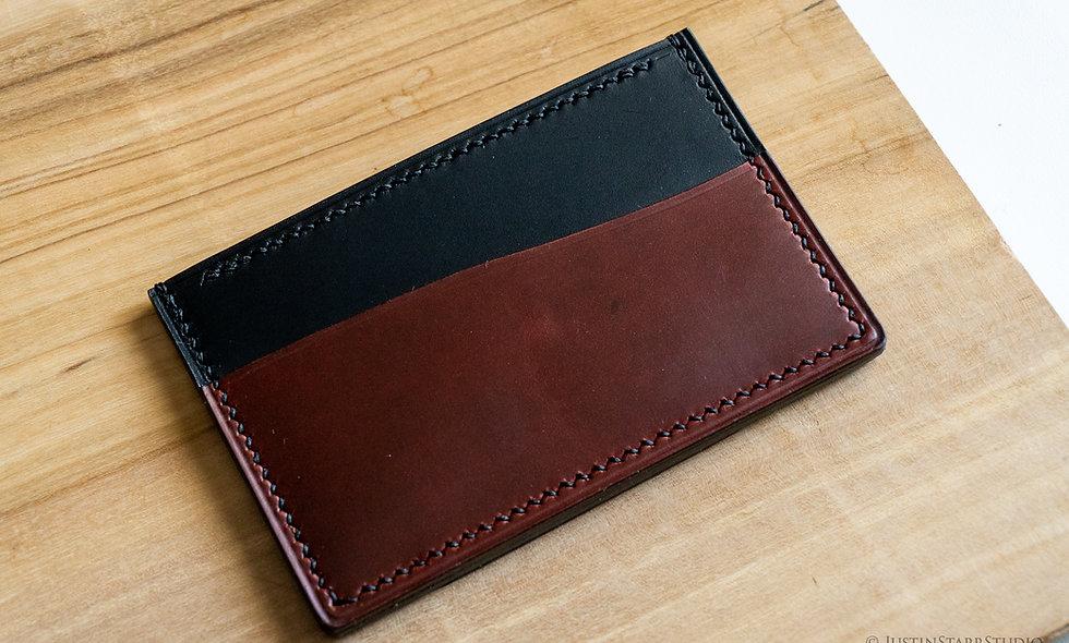 No•33 in Black & Burgundy Heritage Leather