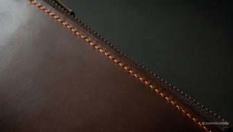 Zipper Pouch Stitching Detail