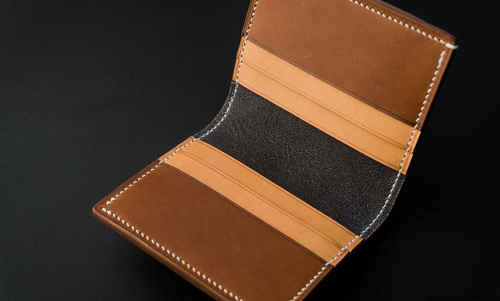 No•77 in Chestnut & Minerva Vachetta Vegetable Tanned Leather