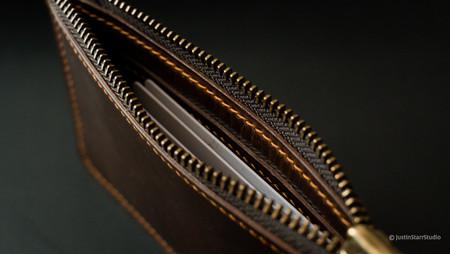 Zipper Pouch Interior Card Pockets