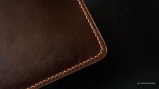 Zipper Pouch Corner Detail