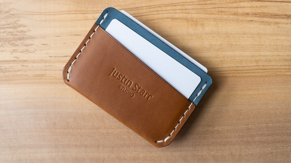 3 Pocket Whiskey & Nubuck Leather with Brown Stitching
