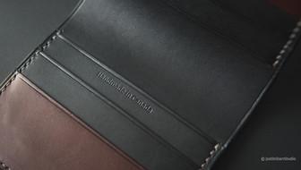 No.77 Bifold Pocket Detail