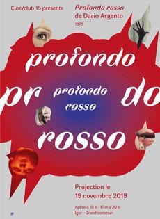 affiche Dario Argento Profondo Rosso