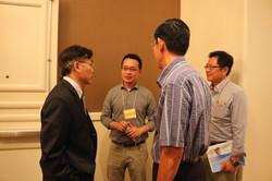 SETS- 生科司司長莊偉哲與三位教授