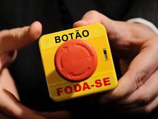 Pressione o botão vermelho