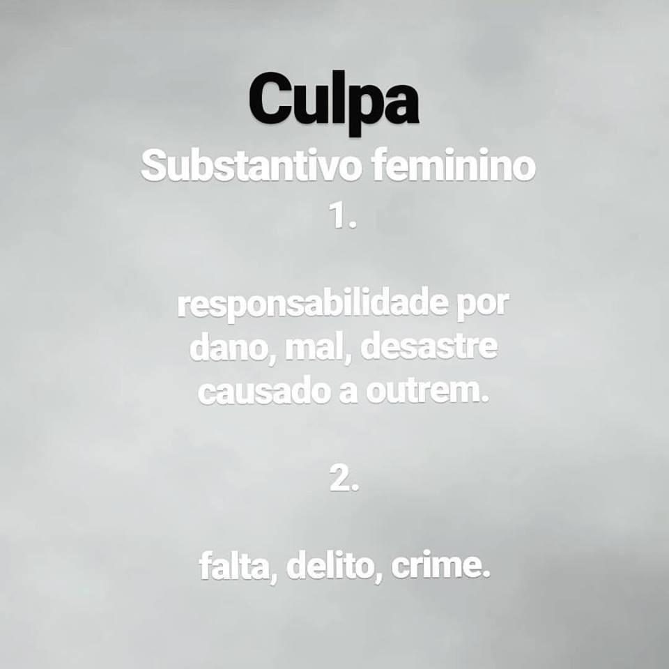 Definição de culpa