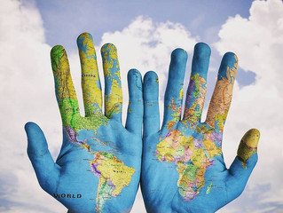 Você tem o mundo nas mãos!