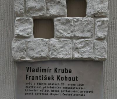 Všechny pražské oběti ze srpna 1969 mají své pomníky
