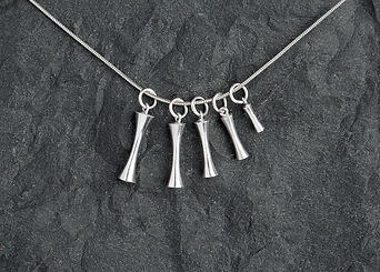 Necklace Rose & Steel