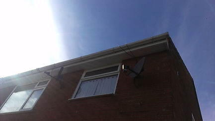 Gutter cleaning domestic