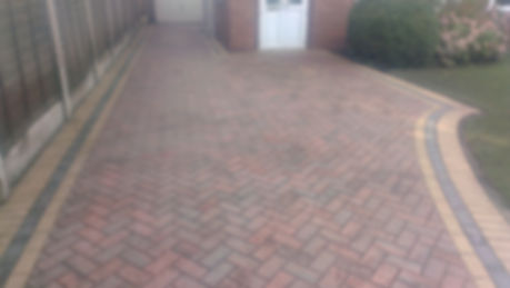 Driveway cleaning After clean
