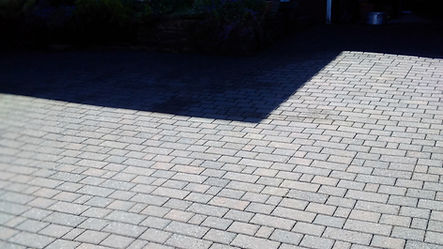 driveway cleaning- After