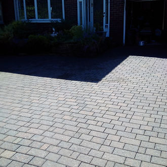 Driveway cleaning - star jet wash - patio cleaning