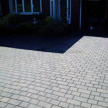 driveway cleaning stockpor