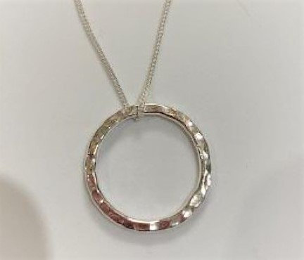 Sterling Silver  Circle of Life Pendant