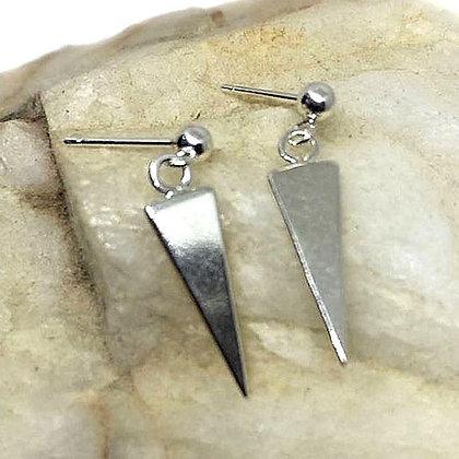 Sterling Silver Arrowhead stud earrings