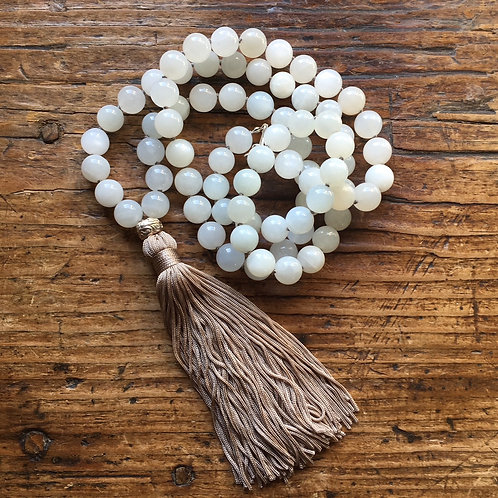 Moonstone with tassel