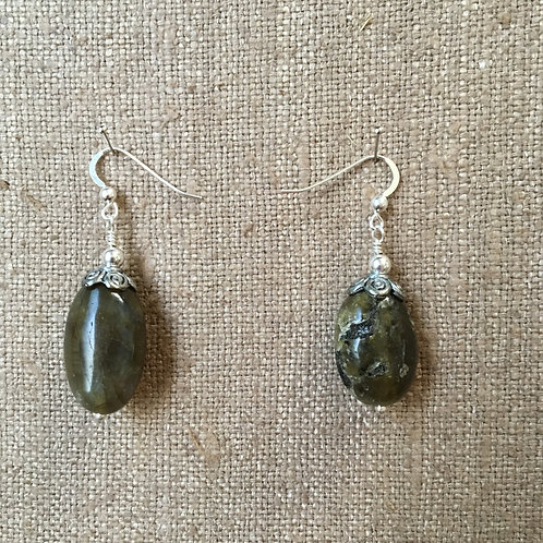 Labradorite Nuggets with Sterling Silver