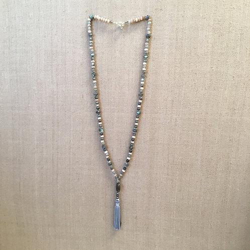 Labradorite and Sunstone Necklace