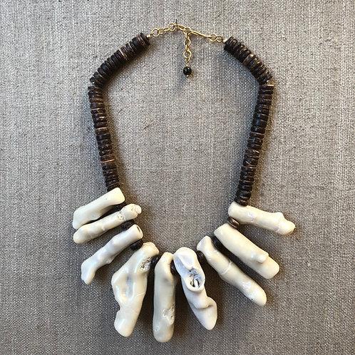 White coral choker