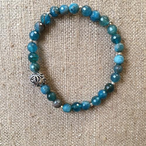 Apatite stretch bracelet