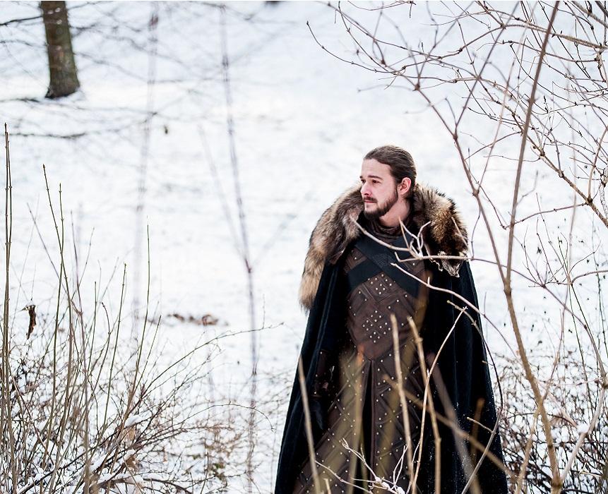 Jon Snow King in the North