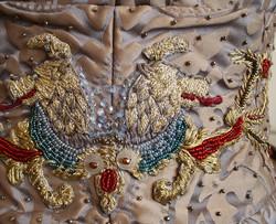 Sansa Wedding Embroidery Back Belt