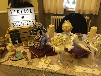 Vintage Button Bouquets ©