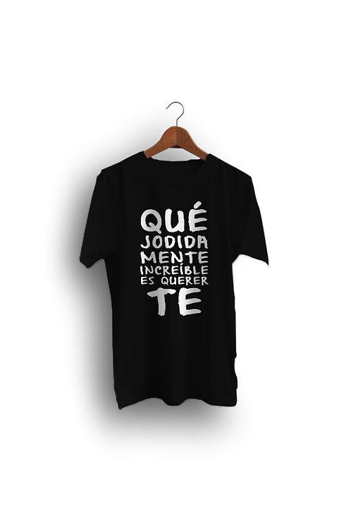 Camiseta Negra TRALARÁ (hombre)