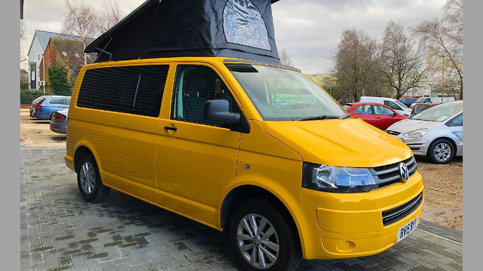 VW T5 Campervan - Yellow