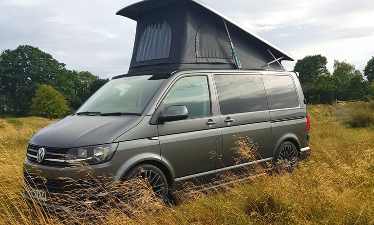Power assist camper pop top roof |