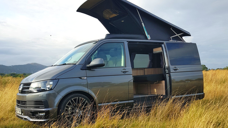 Scenic campervan pop top roof fitted