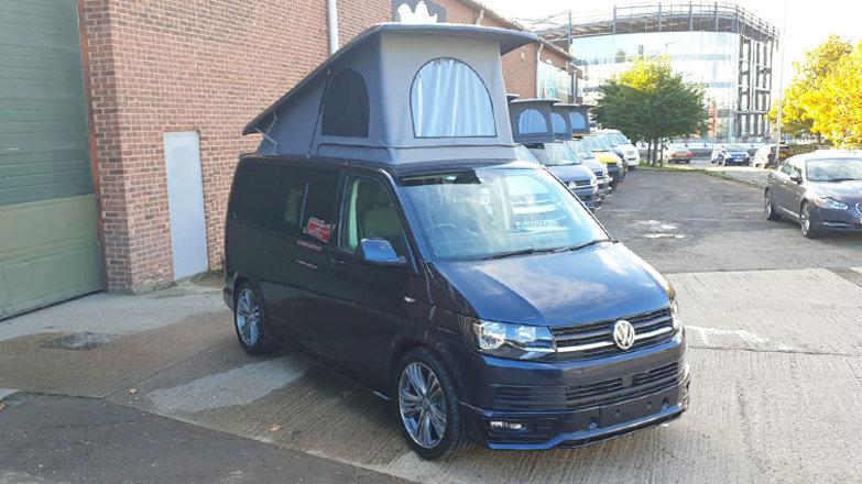 VW Campervan Highline T6 - Starlight Blue