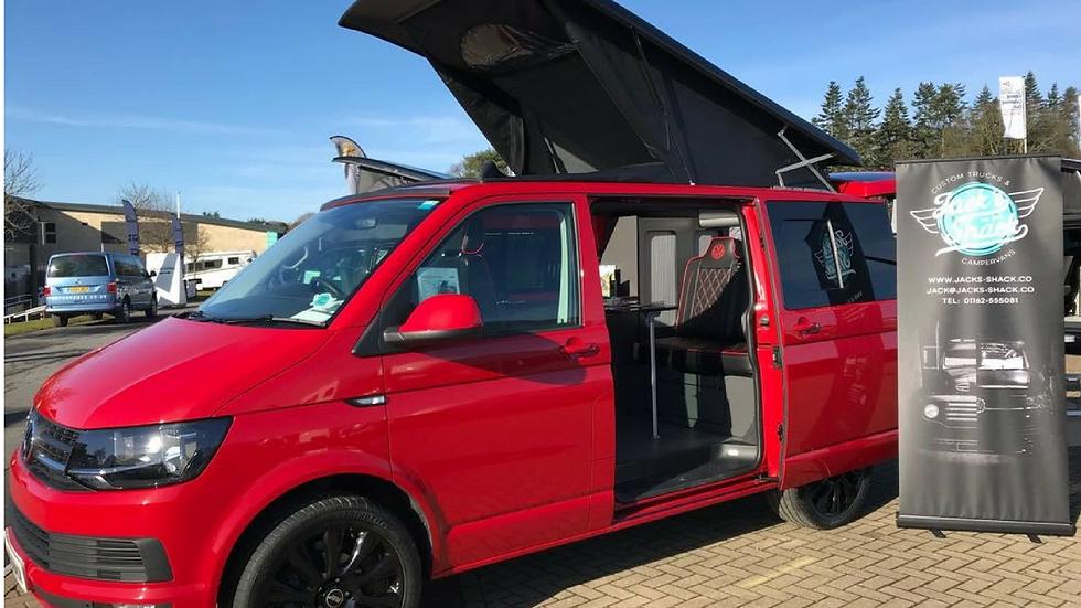T6 VW Campervan - Red
