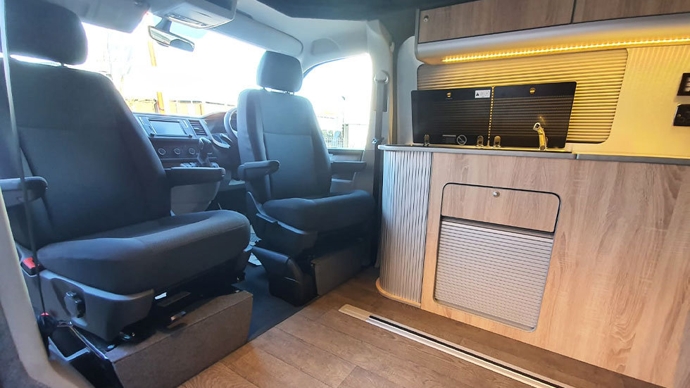 Captains seats for campervans fitted from