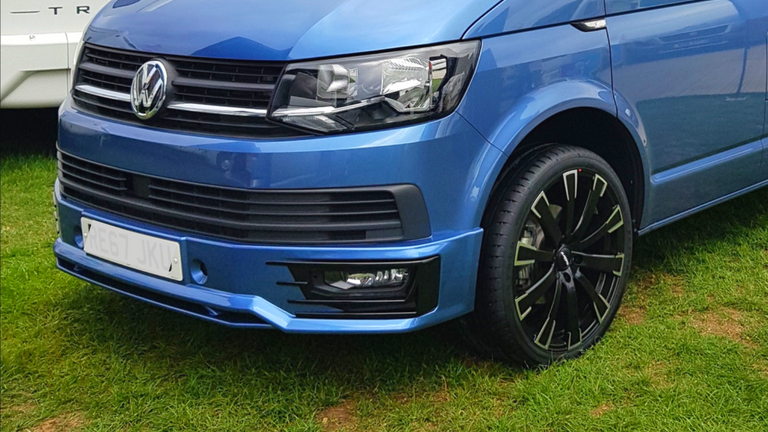 VW T6 Body kit fitted from