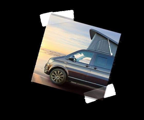 Blackberry VW T6 Campervan