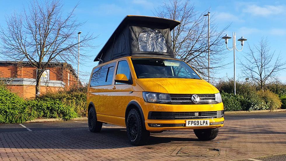 VW Swamper Campervan T6 - Yellow