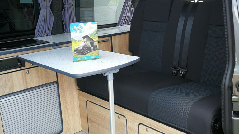 Campervan RIB beds fitted from