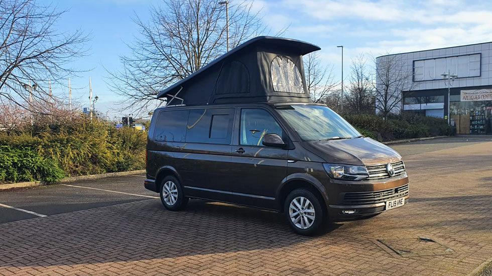 VW Campervan T6 - Chestnut Brown