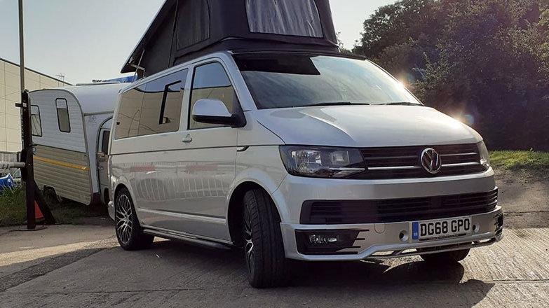 VW T6 Campervan Highline - Silver